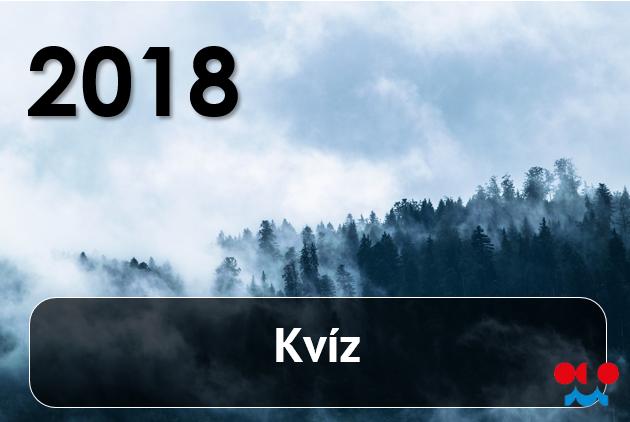 Kvíz – 20181 min čtení