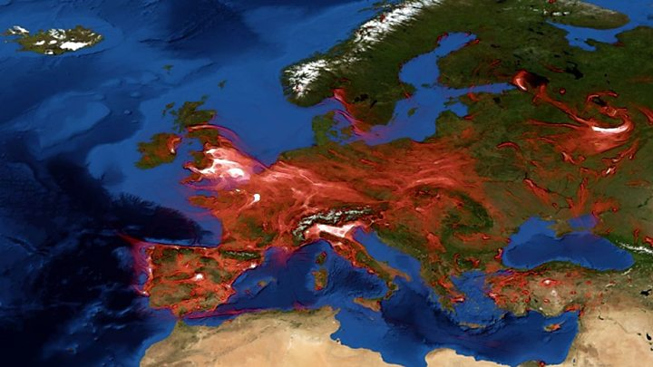 Zajímavá animace šíření NO2 Evropou3 min čtení