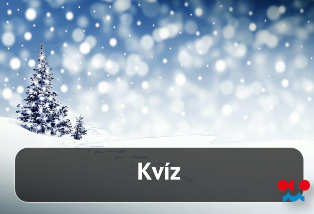 Kvíz – Vánoce a sníh1 min čtení