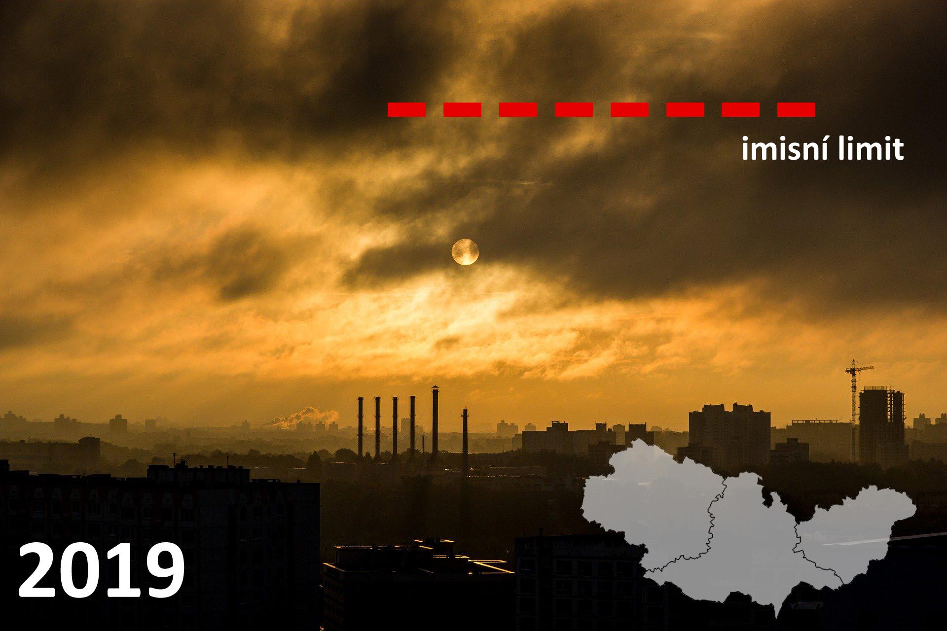 Překračování imisních limitů v kraji Jihomoravském, Zlínském a Vysočina 2019 – předběžné výsledky PM108 min čtení