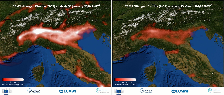 Staniční data koncentrací NO2 potvrzují závěry z družicových snímků aneb vliv pandemie na kvalitu ovzduší6 min čtení