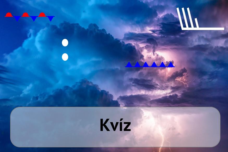 Kvíz – meteorologické symboly1 min čtení