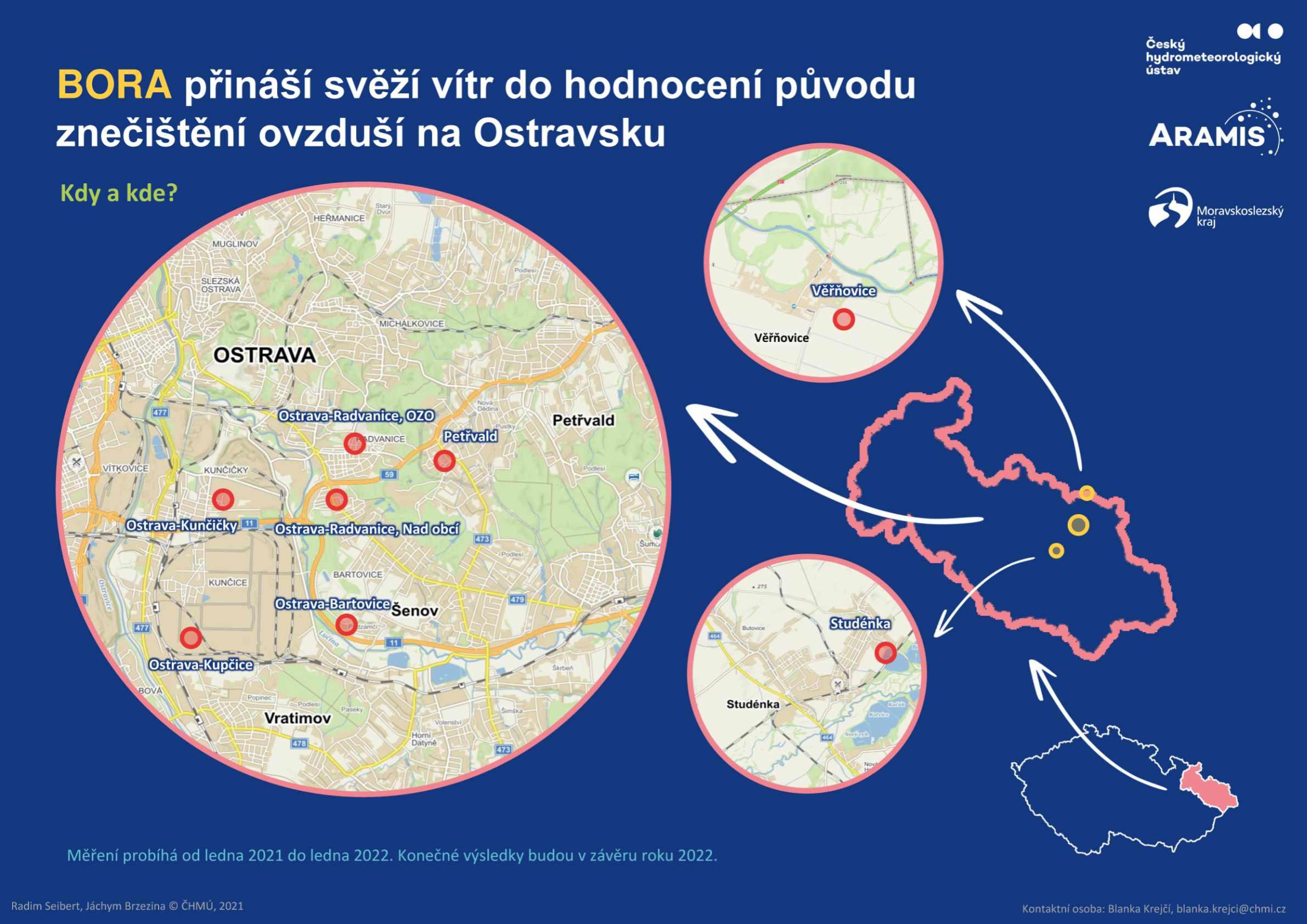 Koncept BORA – bližší určení původu znečištění ovzduší na Ostravsku – infografika 3